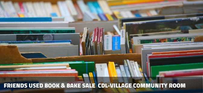 Upcoming book sale